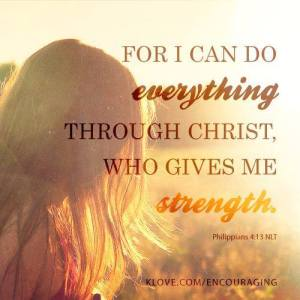 Only Through Christ