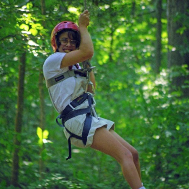 Me on the Zip Line