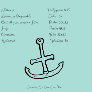 Where is your life anchored?